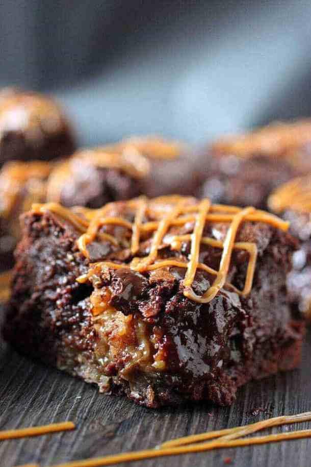 Coconut Dulce de Leche Brownies