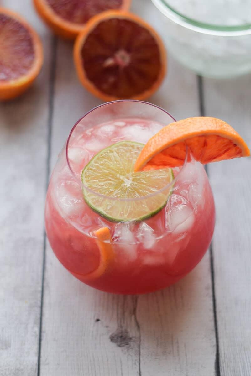 Skinny Blood Orange Crush