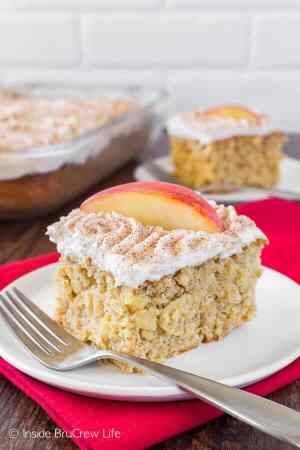 Snickerdoodle Apple Cake