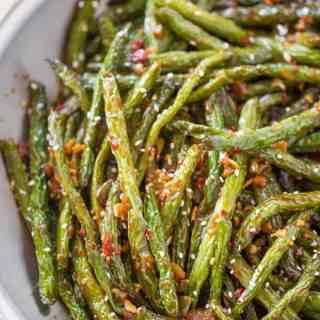 Spicy Chinese Sichuan Green Beans