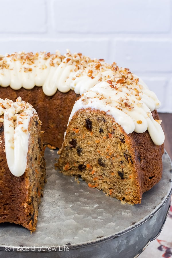 Carrot Bundt Cake Recipe