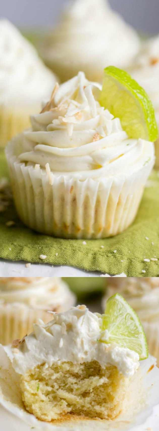 Coconut Lime Cupcakes Longpin