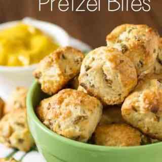 Olive Parmesan Pretzel Bites