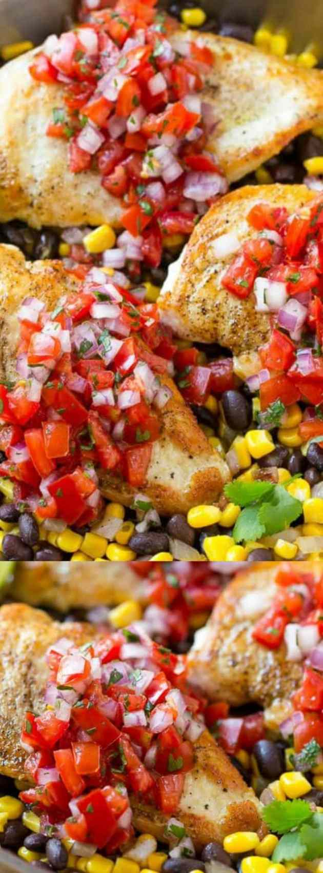 Salsa Chicken Longpin
