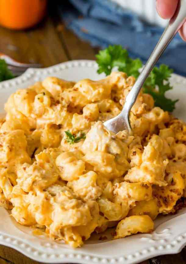 Buffalo Chicken Mac and Cheese -- Part of The Best Macaroni and Cheese Recipes