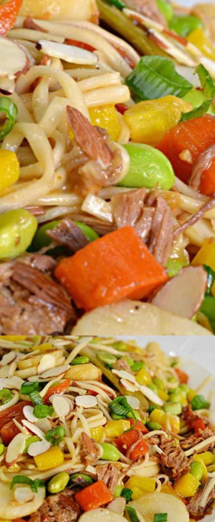 Asian Noodle Bowl longpin