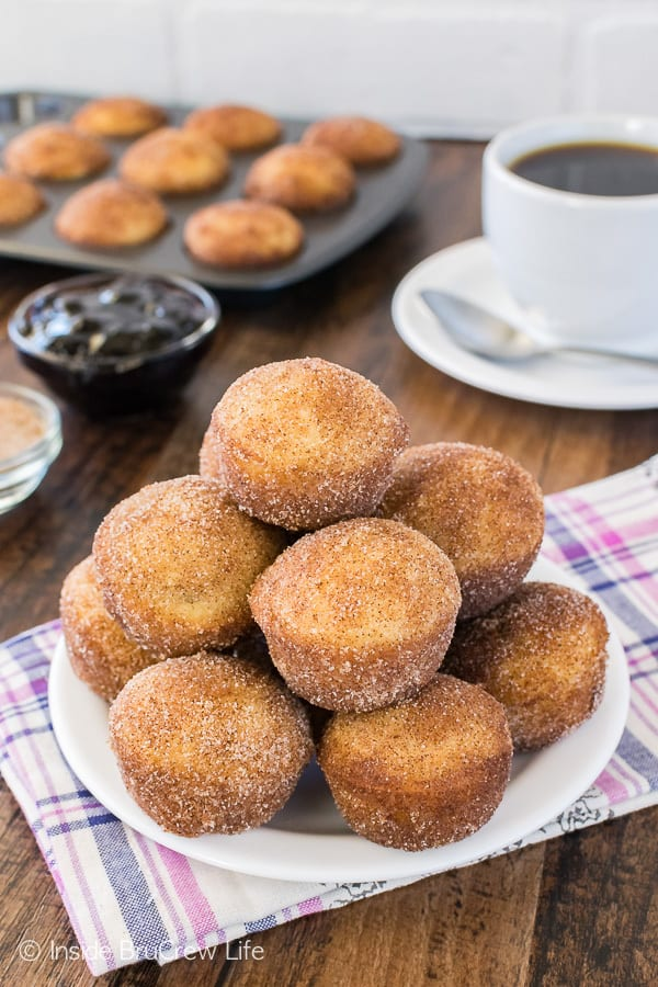 Blueberry Jelly Donut Holes Recipe