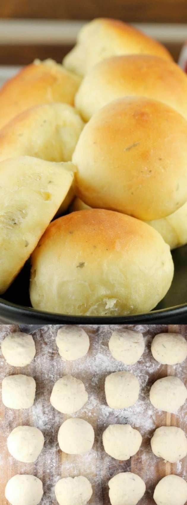 Buttermilk Ranch Dinner rolls longpin