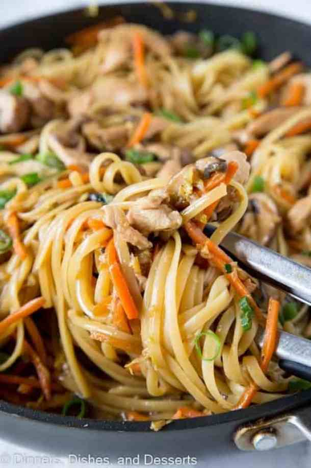 Chicken Lo Mein -- part of The Most Amazing Chicken Recipes