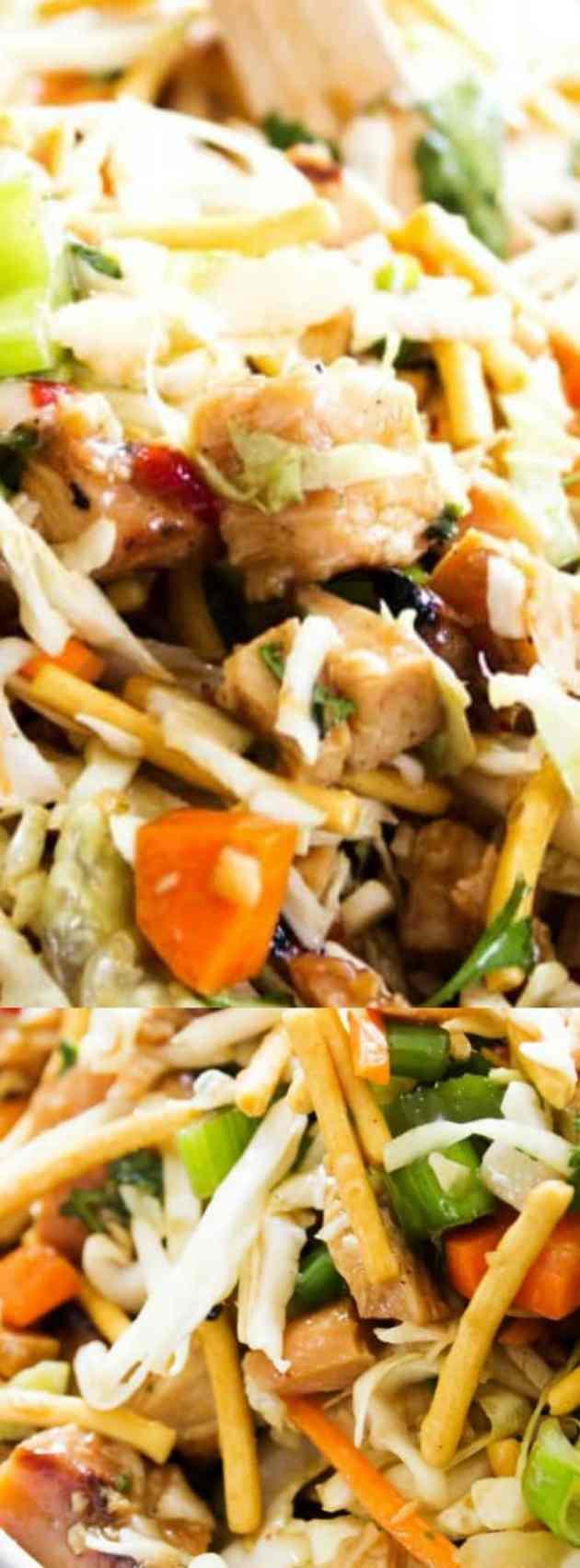 Chopped Asian Salad Longpin