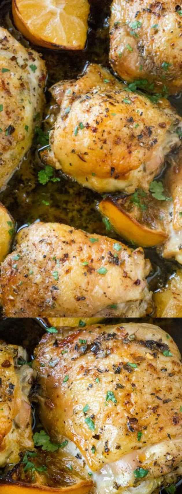 Easy Greek Lemon Chicken longpin