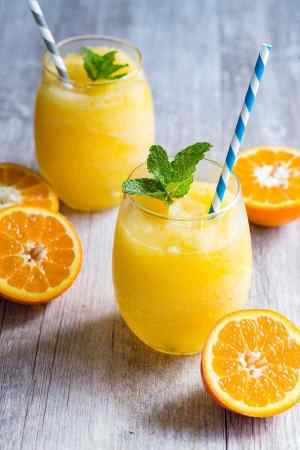 Frozen Orange Prosecco