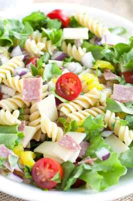 Italian Sub Pasta Salad