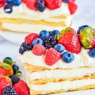 Lemon Berry Napoleon
