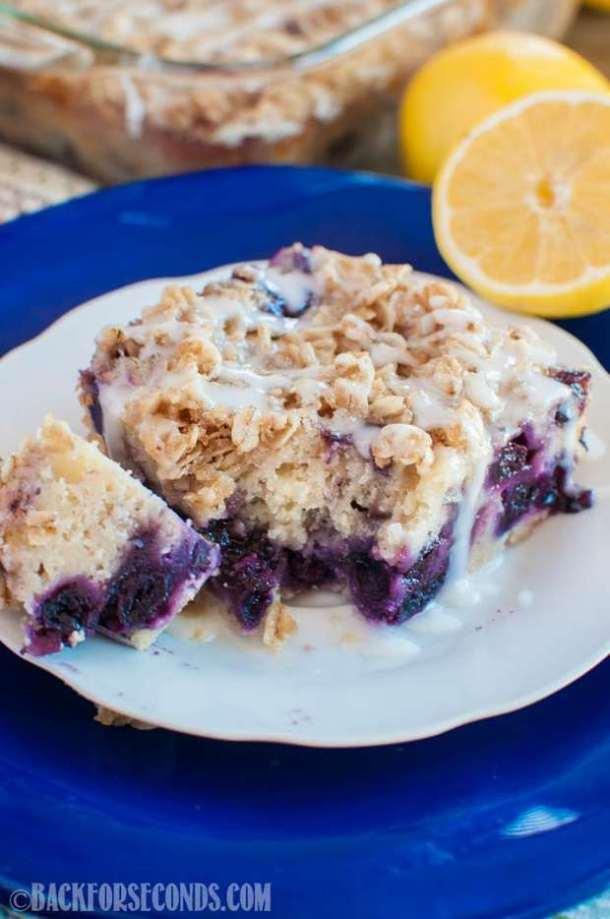 Lemon Blueberry Coffee Cake Recipe