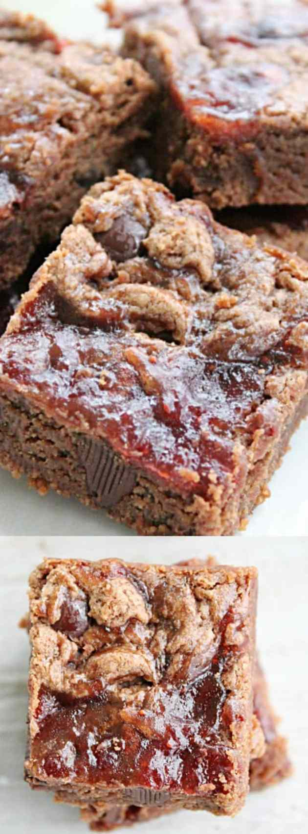 Peanut Butter And Jelly Brownies Longpin