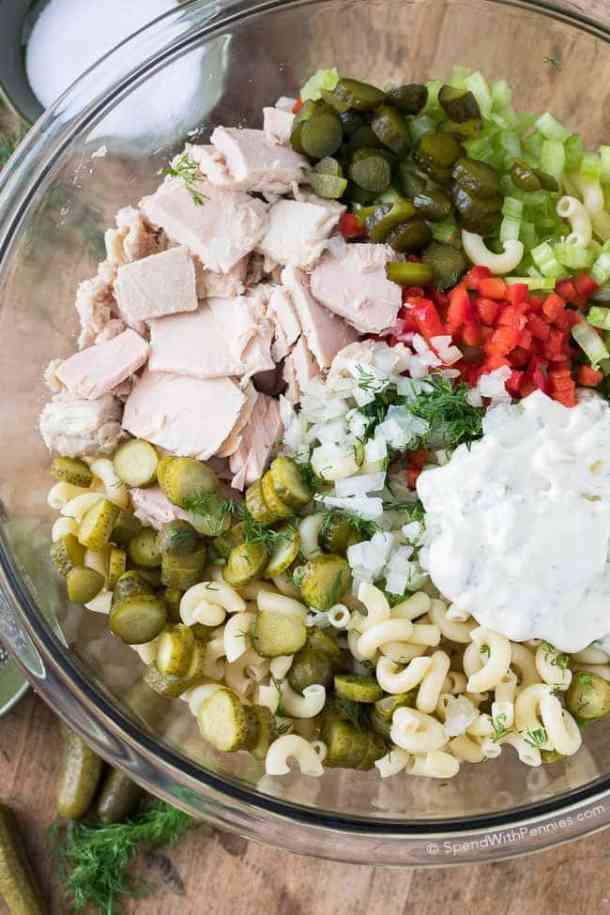 Pickled Tuna Macaroni Salad Recipe