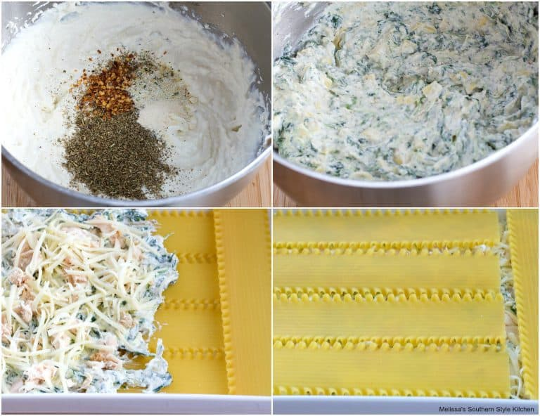 cheesy chicken spinach and artichoke lasagna recipe