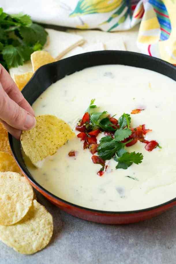 white queso dip recipe