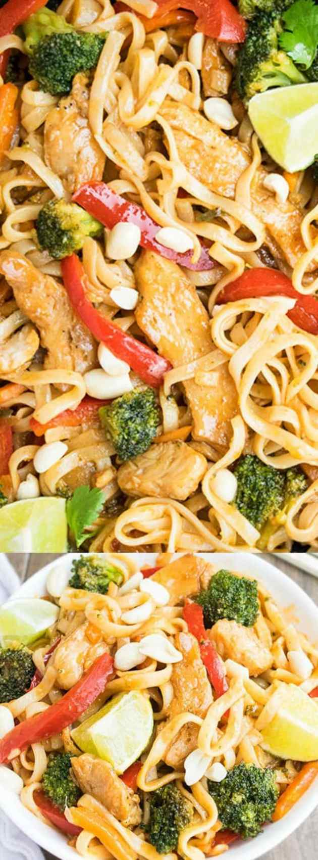 Chicken Pad Thai longpin