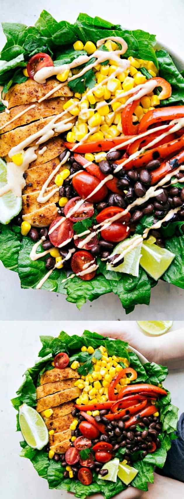 Chili Lime Chicken Salad longpin