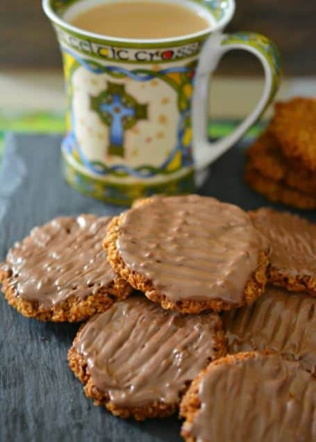 Chocolate Coated Hobnob Biscuits recipe