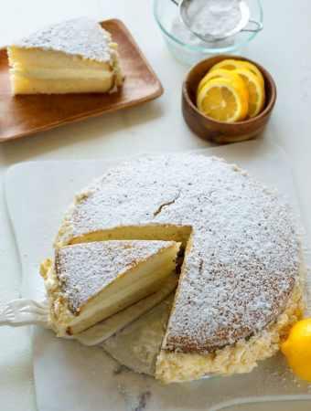 Copycat Olive Garden Lemon Cream Cake