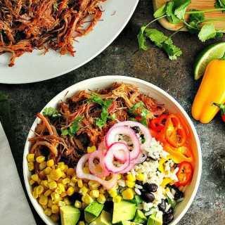 Pork Carnitas Burrito Bowls