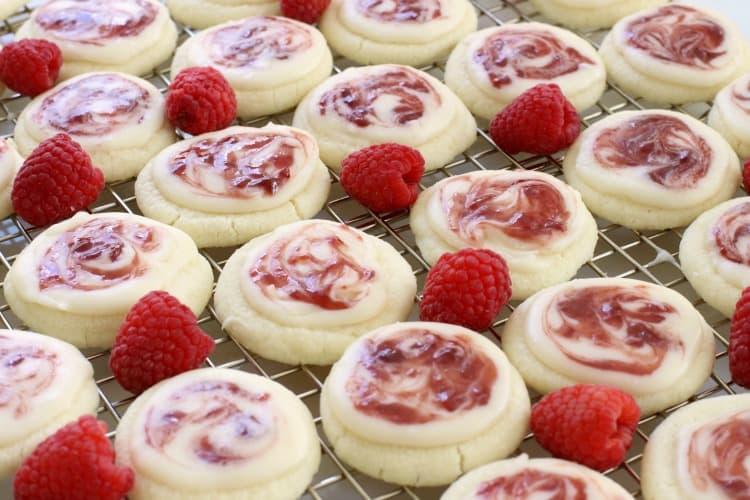 Raspberry Meltaway Cookies recipe