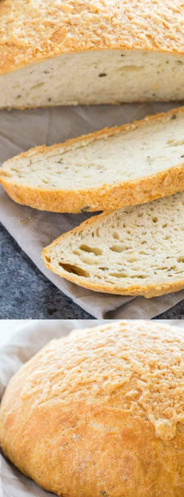 Rosemary Cheese Bread Longpin