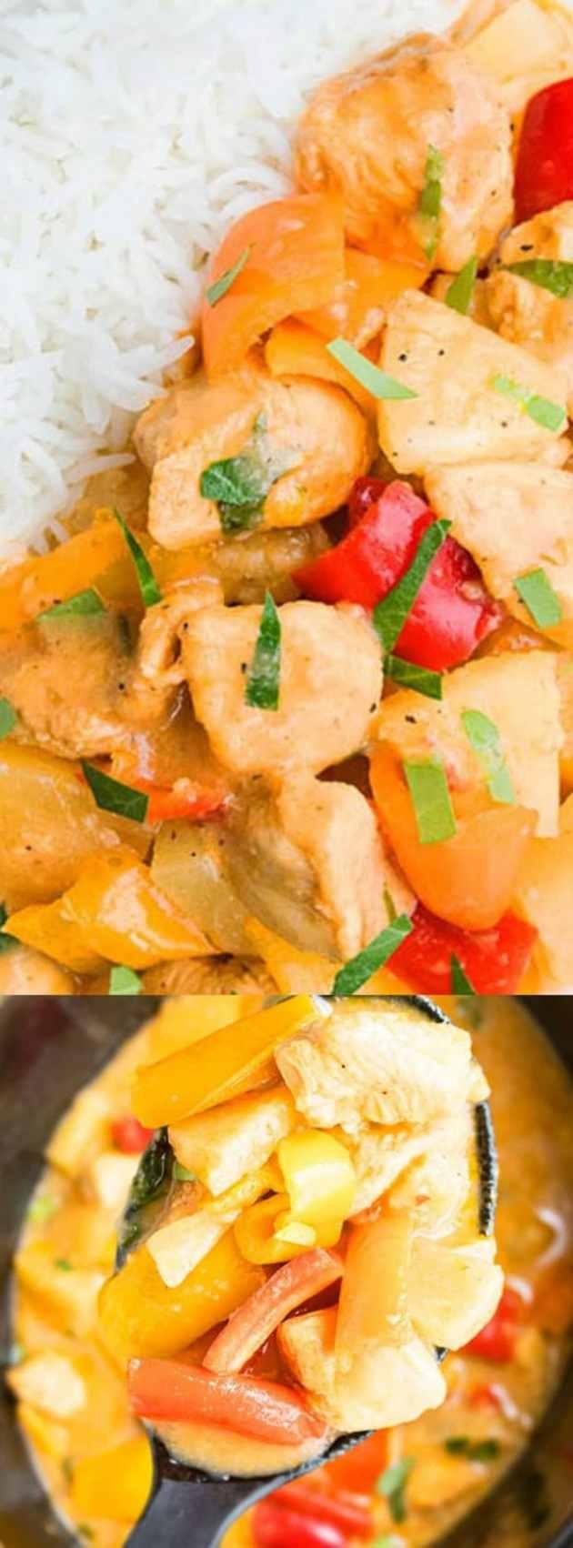 Slow Cooker Pineapple Chicken longpin