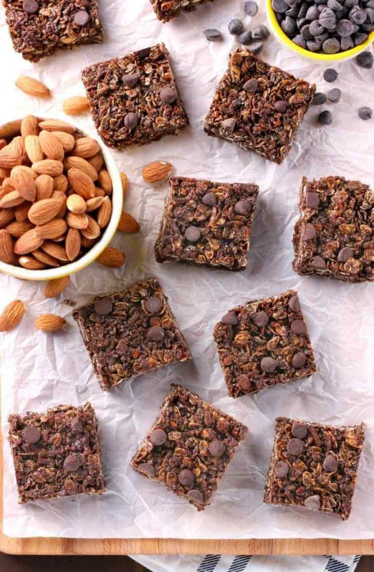 almond joy granola bars recipe