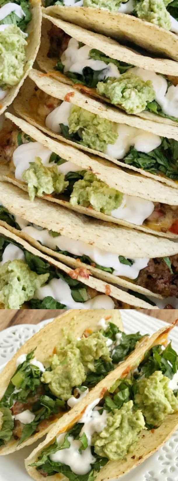 Baked Beef Fajita Tacos Longpin