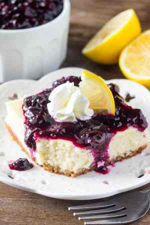 Lemon Blueberry Cheesecake Squares