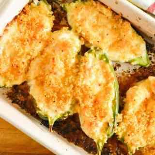 Shrimp Stuffed Jalapeno Poppers