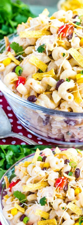 Southwest Chicken Pasta Salad Longpin