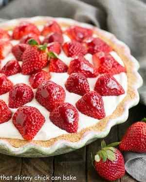 Strawberry Cream Pie Recipe
