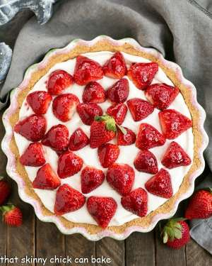 Strawberry Cream Pie Recipe2