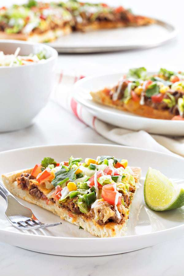 Taco Pizza Pie Recipe
