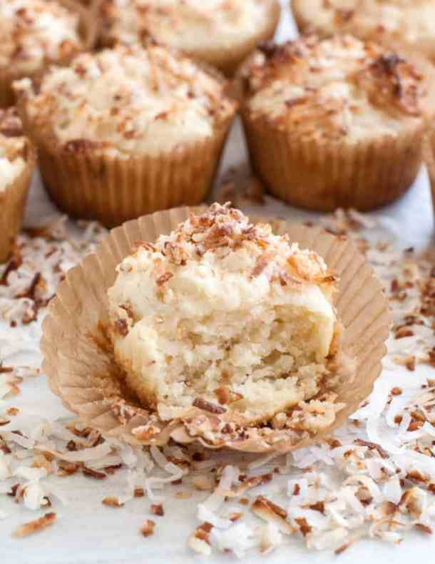 Toasted Coconut Muffins Recipe