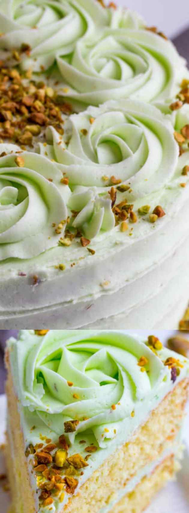 Vanilla Bean Pistachio Cake Longpin