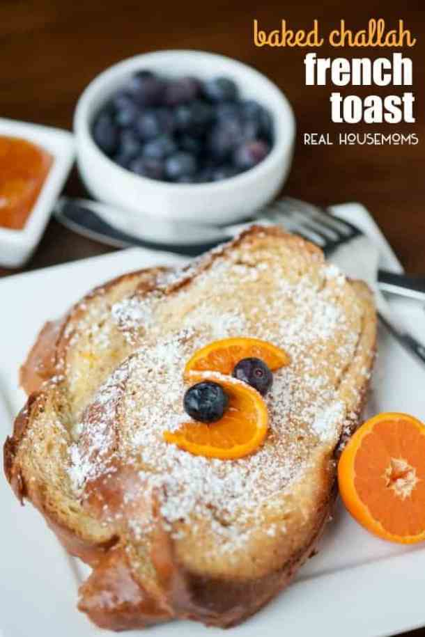 Baked Challah French Toast--Part of The Best French Toast Recipes