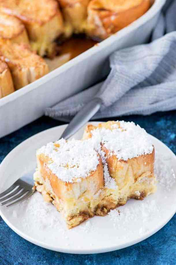 Creme Brulee French Toast--Part of The Best French Toast Recipes