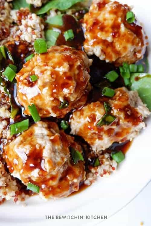 Instant Pot Korean Chicken Meatballs