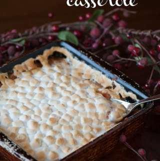 Krissys Sweet Potato Casserole