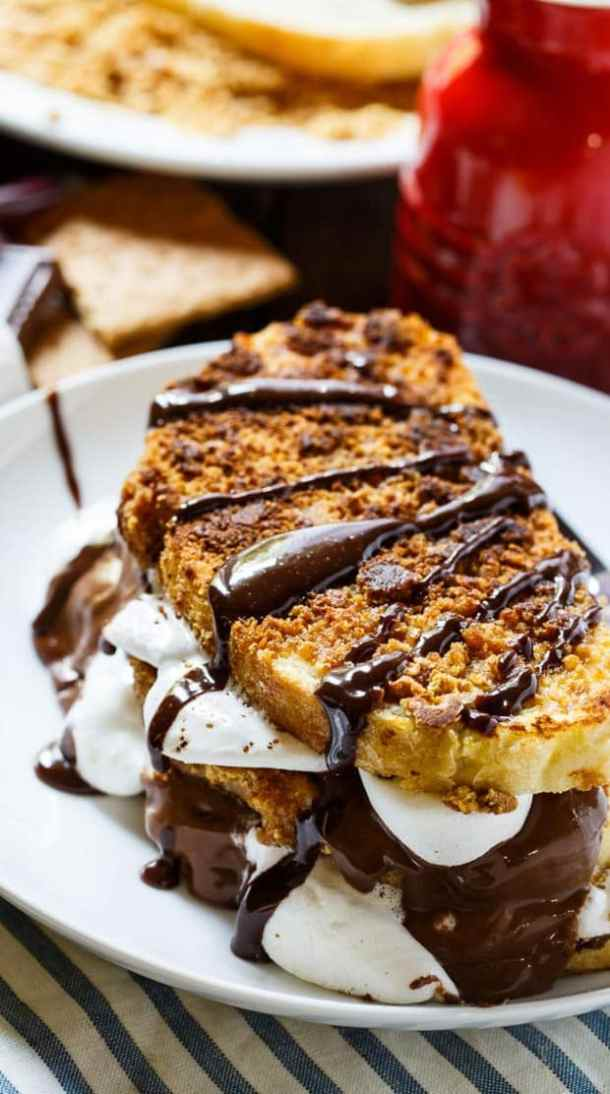 S'mores French Toast--Part of The Best French Toast Recipes