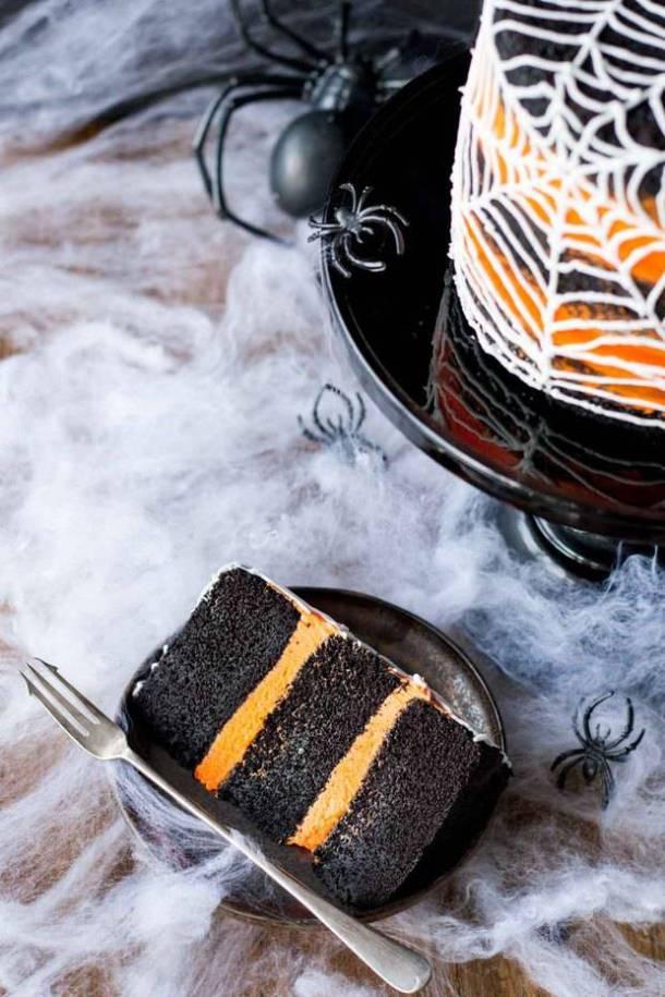 Spiderweb Cake Recipe