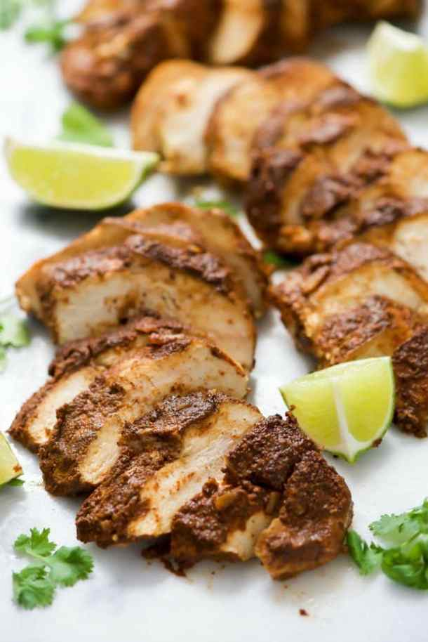 3 Ingredient Mexican Lime Chicken--part of 20+ Easy Weeknight Mexican Chicken Dinner Recipes