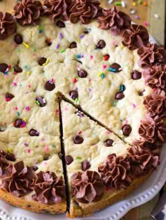 Big Frosted Cookie Cake