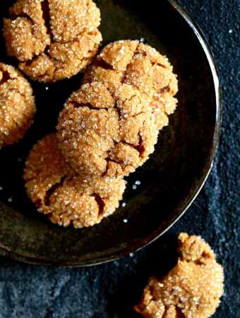 Soft and Chewy Pumpkin Ginger Cookies